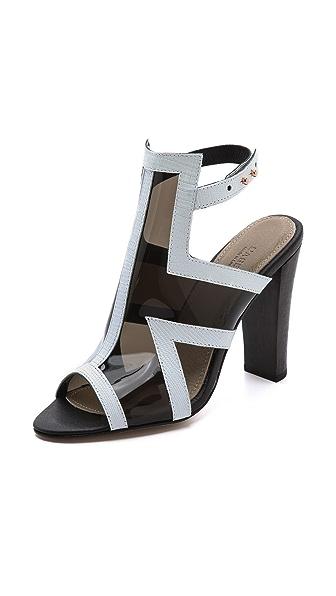 L'AGENCE Dani Plexi Sandals
