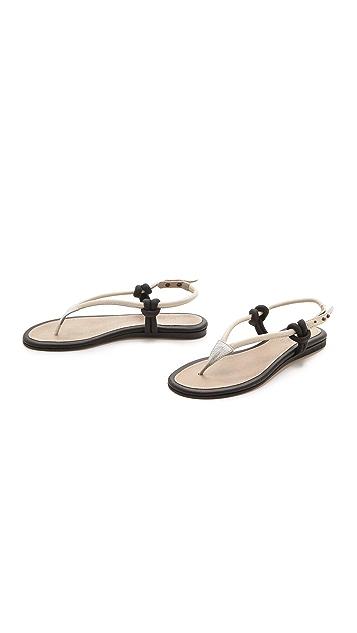 L'AGENCE Dana Flat Sandals