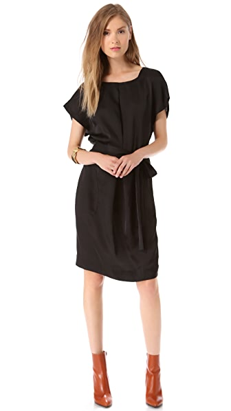 L'AGENCE Box Pleat Dress
