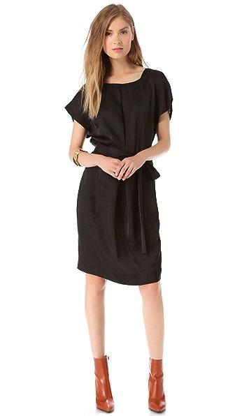 L'AGENCE Box Pleat Dress