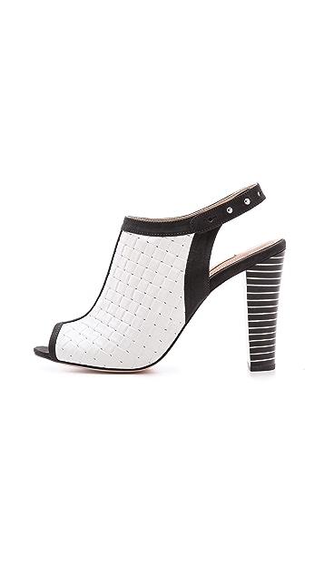 L'AGENCE Slingback Sandals