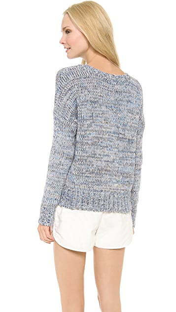 L'AGENCE Long Sleeve Pullover