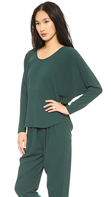 L'AGENCE Scoop Neck Dolman