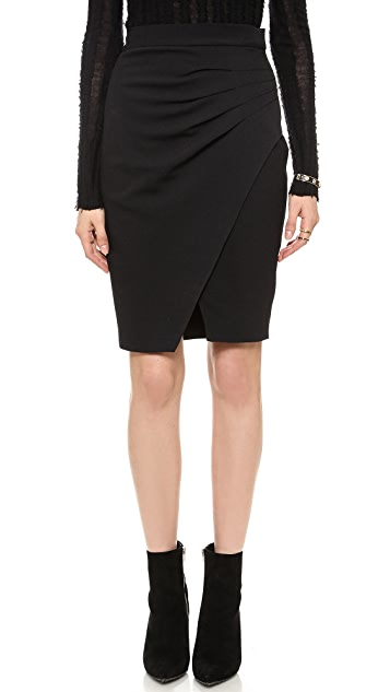 L'AGENCE Pleated Side Skirt