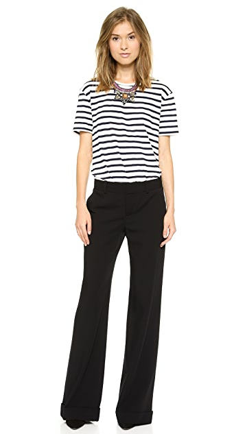 L'AGENCE Long Trousers with Cuff
