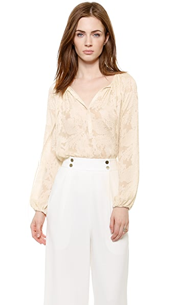 L'AGENCE Poet Blouse