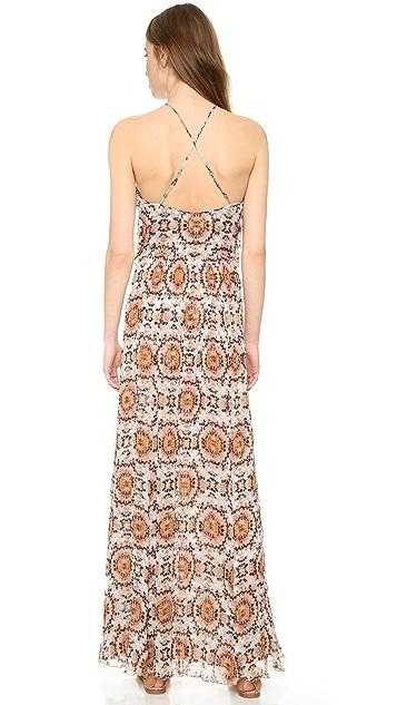 L'AGENCE Adrianna Ruffle Dress