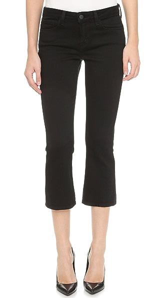 L'AGENCE Укороченные расклешенные джинсы Charlotte