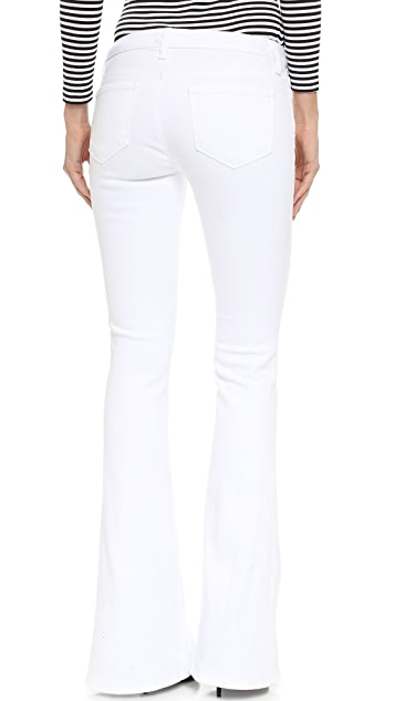 L'AGENCE Elysee Mid Rise Flare Jeans
