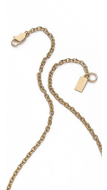Lady Grey Contra Pendant Necklace