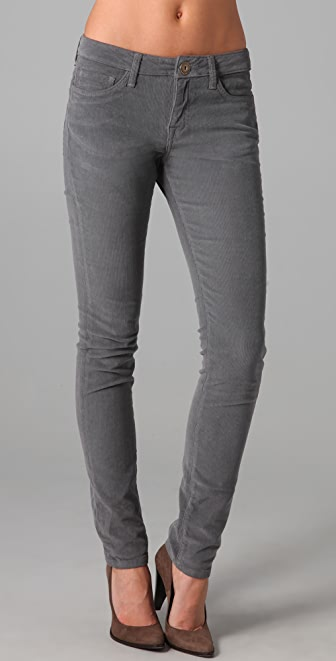 Les Halles The Stretch Skinny Corduroy Pants