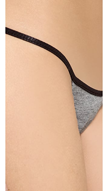 Love Haus Barely There Micro Thong