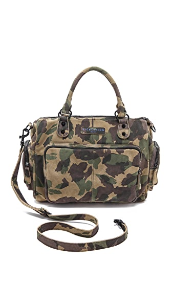 Liebeskind Camo Laptop Satchel