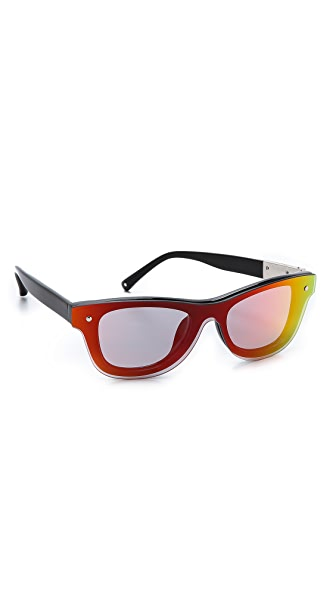 Linda Farrow for 3.1 Phillip Lim Sunset Mirror Sunglasses
