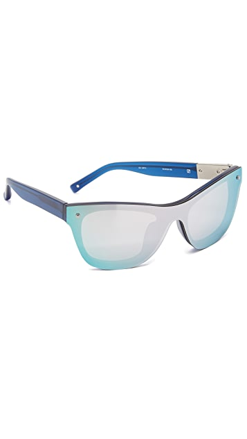 Linda Farrow for 3.1 Phillip Lim Mirrored Sunglasses