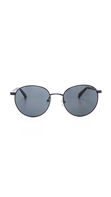 The Row Oversized Round Sunglasses