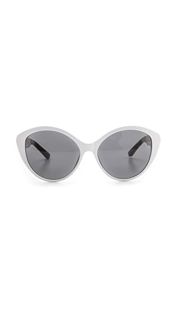 The Row Pointed Acetate Sunglasses