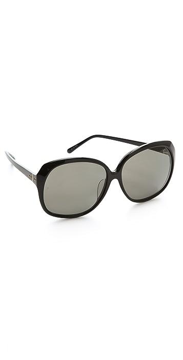 Linda Farrow Luxe Oversized Sunglasses
