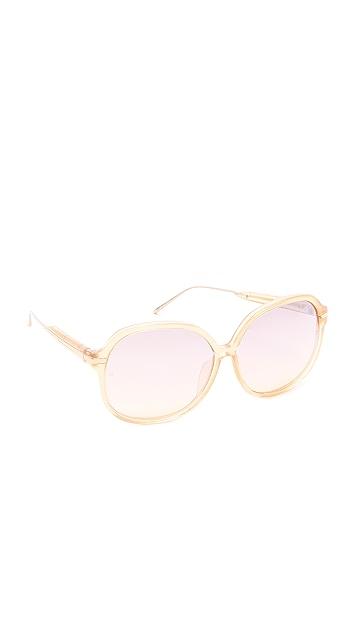 Linda Farrow Luxe Jackie O Sunglasses