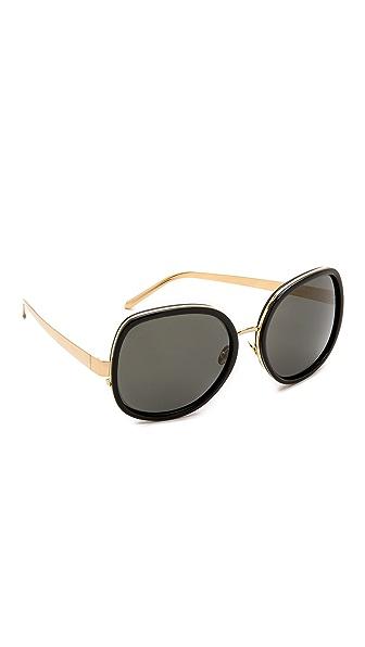 Linda Farrow Luxe Glam Sunglasses