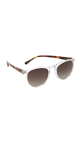 Linda Farrow Luxe Translucent Sunglasses