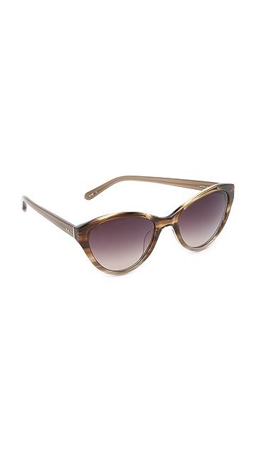 Linda Farrow Luxe Cat Eye Sunglasses