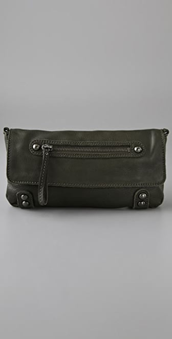 Linea Pelle Dylan Cross Body Clutch