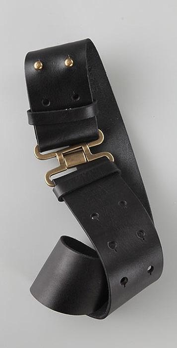 Linea Pelle Vintage Military Belt