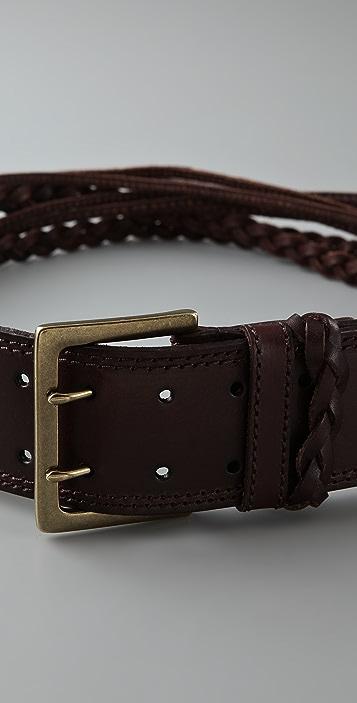 Linea Pelle Sliced & Braided Hip Belt