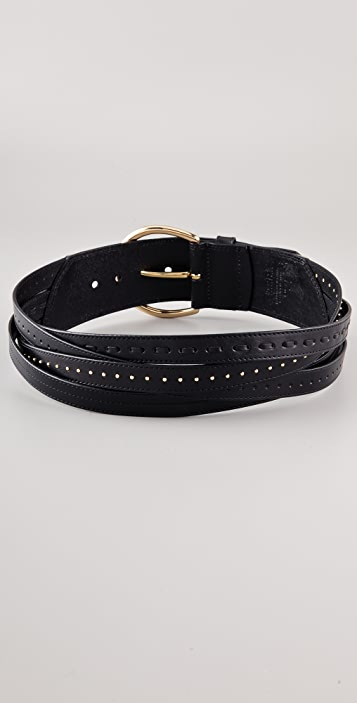 Linea Pelle Braided Hip Belt