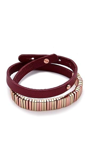 Linea Pelle Skinny Wrap Bracelet
