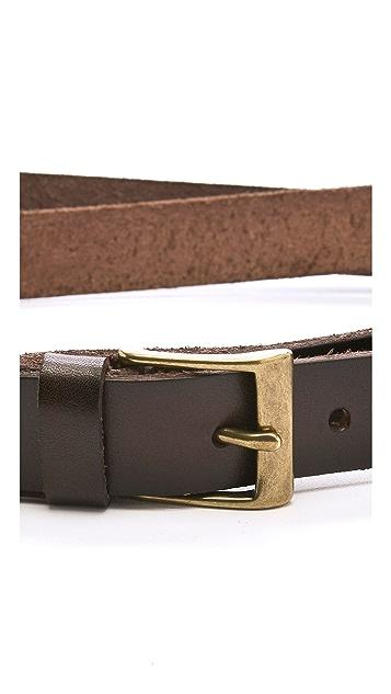 Linea Pelle Jessie Vintage Double Wrap Belt