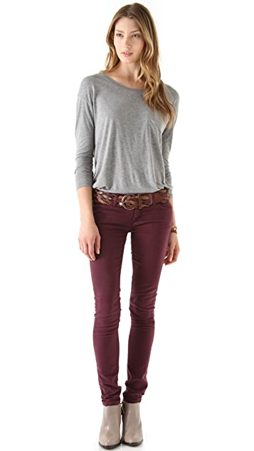 Linea Pelle Daisy Vintage Braided Hip Belt