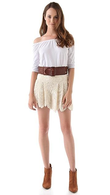 Linea Pelle Daisy Wide Belt