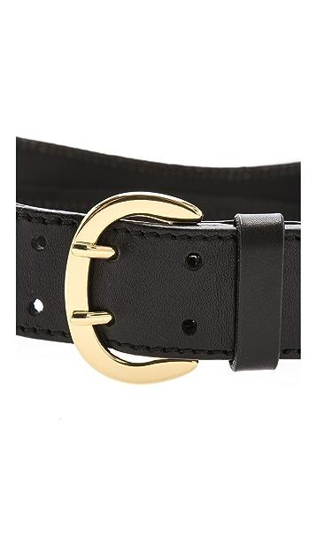 Linea Pelle Luna Sculpted Waist Belt