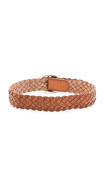 Linea Pelle Versatile Vintage Braid Hip Belt