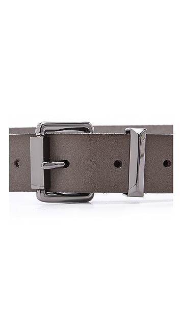 Linea Pelle Faceted Tip Belt