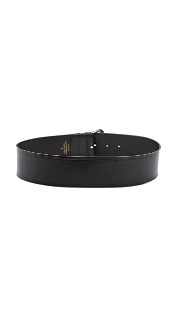 Linea Pelle Thick Metal Tip Belt