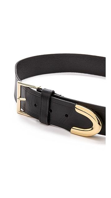 Linea Pelle Basic Hip Metal Tip Belt
