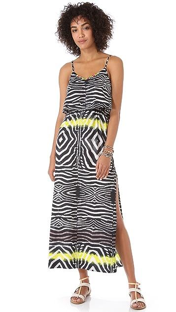Line & Dot Bare Back Maxi Dress