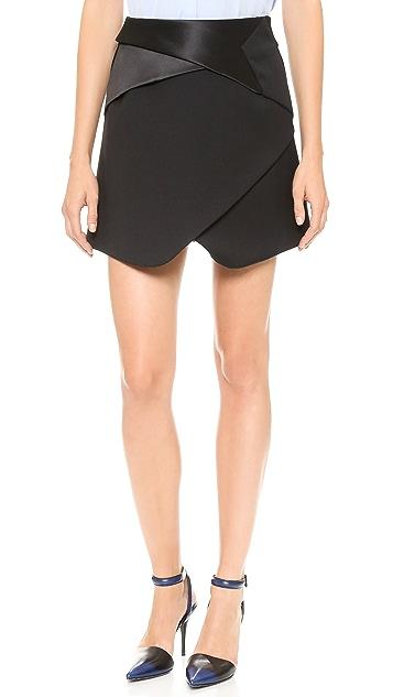 Line II Dion Lee Tux Miniskirt