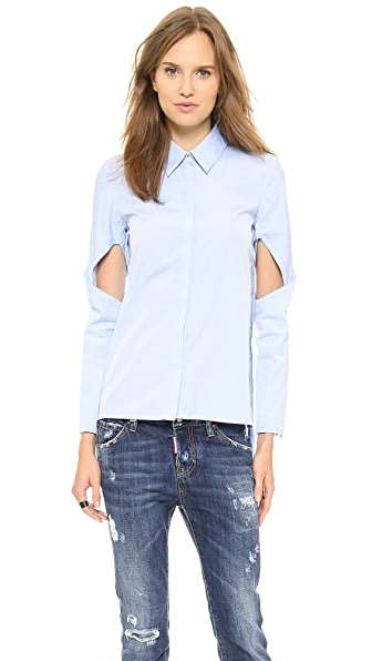 Line II Dion Lee Twist Sleeve Shirt