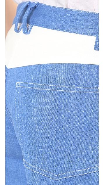 Line II Dion Lee Denim Shorts