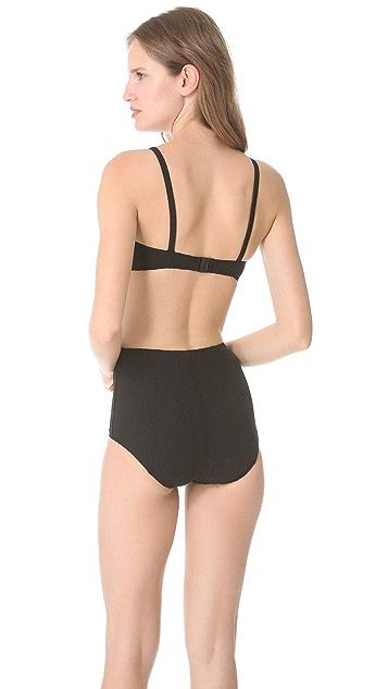 Lisa Marie Fernandez Genevieve High Waisted Bikini