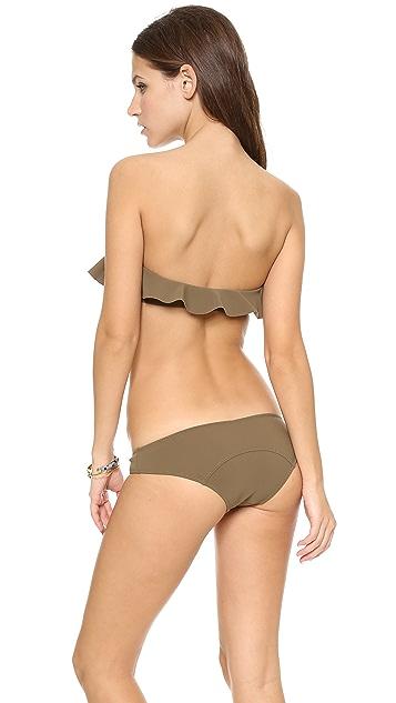 Lisa Marie Fernandez Lauren Flounce Bikini