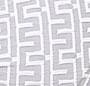 White/ Grey Byzantine Jacquard