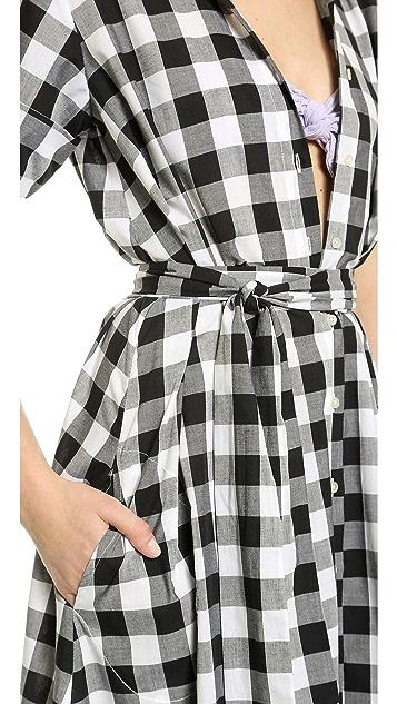Lisa Marie Fernandez Shirtdress Cover Up