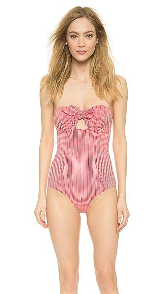 Lisa Marie Fernandez Poppy Strapless Swimsuit