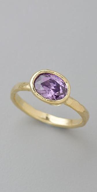 Lisa Stewart Jewelry Gem Stacking Ring