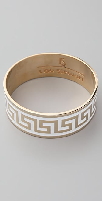 Lisa Stewart Jewelry Modern Myth Gold & Enamel Bangle